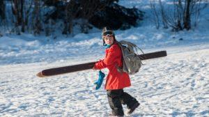 Karsten og Petra på vinterferie